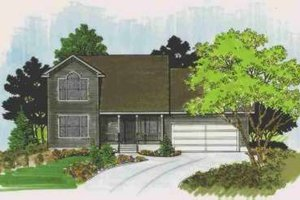 Traditional Exterior - Front Elevation Plan #308-142
