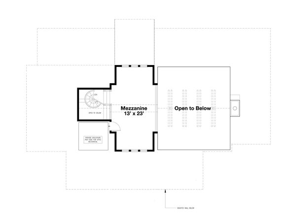 Beach Floor Plan - Other Floor Plan Plan #443-13