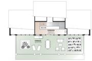 Beach Style House Plan - 3 Beds 2.5 Baths 2527 Sq/Ft Plan #23-1031 Floor Plan - Upper Floor