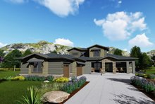 Modern Exterior - Front Elevation Plan #1069-9