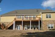 Country Style House Plan - 4 Beds 3.5 Baths 2005 Sq/Ft Plan #437-42 Exterior - Rear Elevation