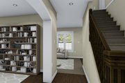 Traditional Style House Plan - 3 Beds 2.5 Baths 1621 Sq/Ft Plan #1060-4 Interior - Entry
