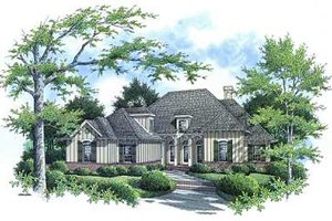 Traditional Exterior - Front Elevation Plan #45-292