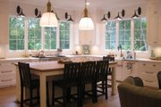 Country Style House Plan - 5 Beds 5.5 Baths 4910 Sq/Ft Plan #1054-95 Interior - Kitchen