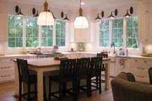 Dream House Plan - Country Interior - Kitchen Plan #1054-95