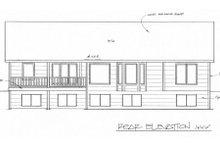 Traditional Exterior - Rear Elevation Plan #58-195