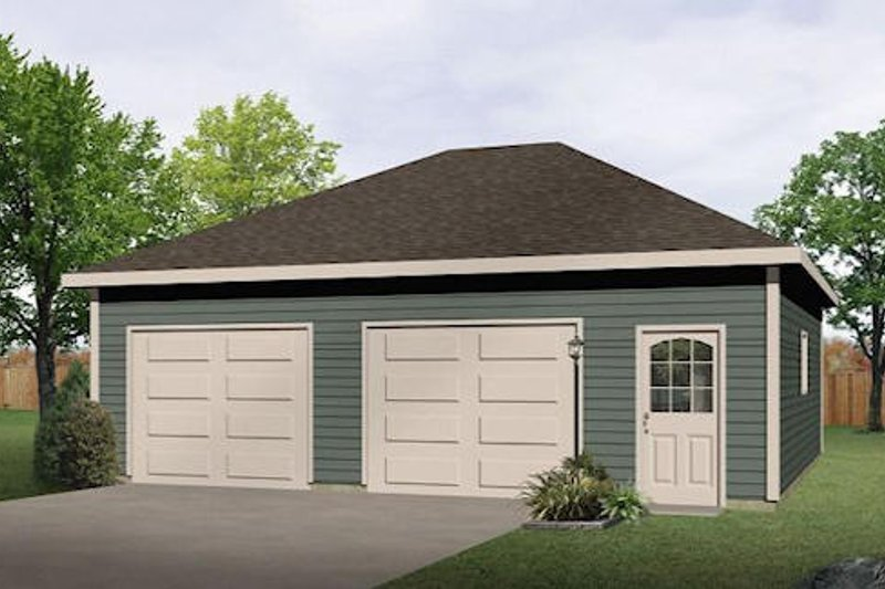 House Plan Design - Traditional Exterior - Front Elevation Plan #22-553