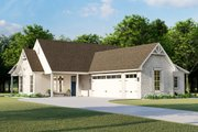 Cottage Style House Plan - 3 Beds 2 Baths 1782 Sq/Ft Plan #406-9657 Exterior - Other Elevation