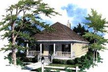 House Design - Cottage Exterior - Front Elevation Plan #37-132