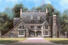 Architectural House Design - European Exterior - Front Elevation Plan #119-136