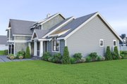 Craftsman Style House Plan - 3 Beds 2.5 Baths 2315 Sq/Ft Plan #1070-58 Exterior - Other Elevation