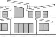 Modern Style House Plan - 4 Beds 2.5 Baths 3526 Sq/Ft Plan #1073-4