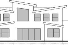 Modern Exterior - Rear Elevation Plan #1073-4