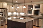 Ranch Style House Plan - 3 Beds 2.5 Baths 2830 Sq/Ft Plan #119-430 Interior - Kitchen