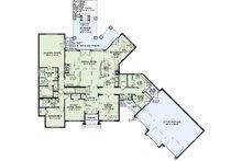 European Floor Plan - Main Floor Plan Plan #17-2498