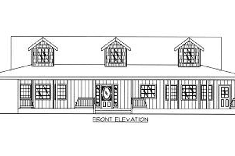 Country Exterior - Other Elevation Plan #117-522 - Houseplans.com
