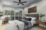 Farmhouse Style House Plan - 6 Beds 4.5 Baths 4658 Sq/Ft Plan #1060-48 Interior - Bedroom