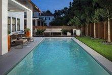 Contemporary Exterior - Outdoor Living Plan #1058-180