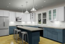 Craftsman Interior - Kitchen Plan #461-50