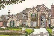 European Style House Plan - 5 Beds 5.5 Baths 4970 Sq/Ft Plan #310-521