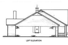 Home Plan Design - Ranch Exterior - Other Elevation Plan #45-190