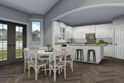 Traditional Style House Plan - 3 Beds 2.5 Baths 1999 Sq/Ft Plan #1060-46 Interior - Dining Room