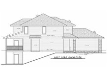 House Blueprint - Traditional Exterior - Other Elevation Plan #20-2457