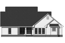 Dream House Plan - Country Exterior - Rear Elevation Plan #21-320