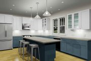 Craftsman Style House Plan - 3 Beds 2.5 Baths 2071 Sq/Ft Plan #461-51 Interior - Kitchen