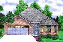 Traditional Exterior - Front Elevation Plan #52-107