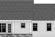 Craftsman Style House Plan - 3 Beds 2.5 Baths 2023 Sq/Ft Plan #21-387 Exterior - Rear Elevation