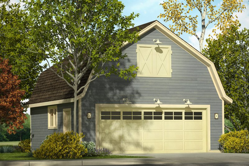 Dream House Plan - Country Exterior - Front Elevation Plan #124-997