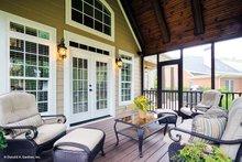 House Plan Design - European Exterior - Outdoor Living Plan #929-34