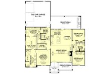 Farmhouse Floor Plan - Main Floor Plan Plan #430-187
