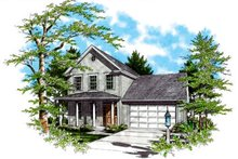 Dream House Plan - Country Exterior - Other Elevation Plan #48-434