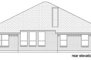 Traditional Style House Plan - 3 Beds 2 Baths 1907 Sq/Ft Plan #84-578 Exterior - Other Elevation