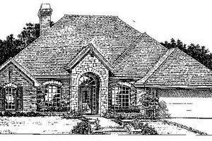 Exterior - Front Elevation Plan #310-734