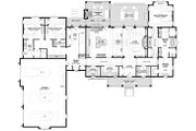 Farmhouse Style House Plan - 3 Beds 2.5 Baths 2412 Sq/Ft Plan #928-325 Floor Plan - Main Floor Plan