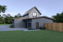 Dream House Plan - Contemporary Exterior - Rear Elevation Plan #1070-80