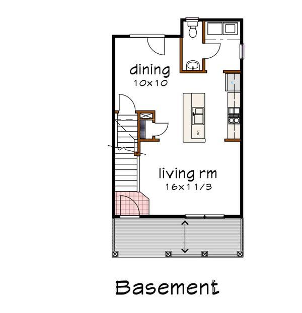 Farmhouse Floor Plan - Other Floor Plan Plan #79-124