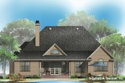 Country Style House Plan - 4 Beds 2 Baths 2194 Sq/Ft Plan #929-83 Exterior - Rear Elevation