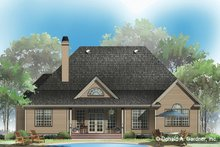 Country Exterior - Rear Elevation Plan #929-83