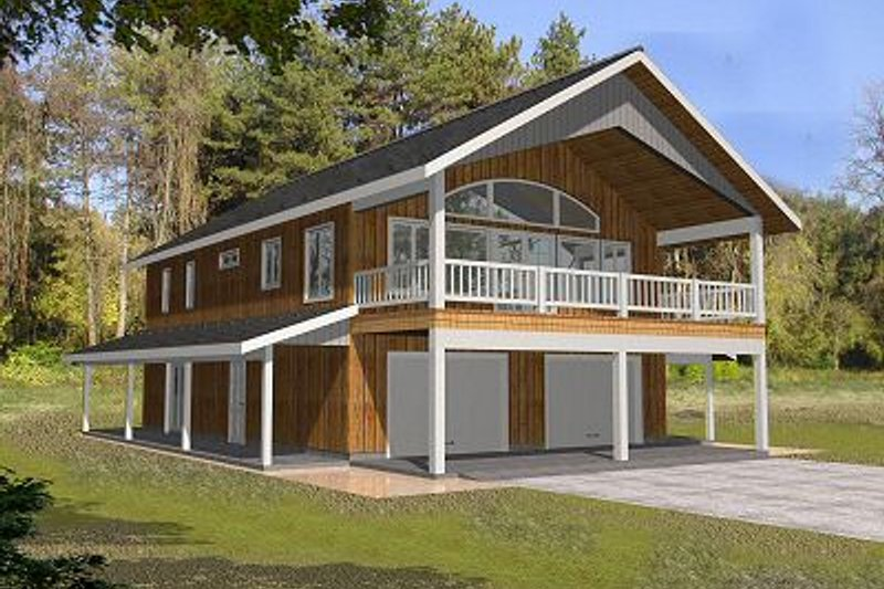 House Plan Design - Traditional Exterior - Front Elevation Plan #117-535