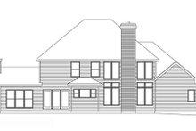 Traditional Exterior - Rear Elevation Plan #22-214