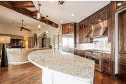 Prairie Style House Plan - 4 Beds 4.5 Baths 3716 Sq/Ft Plan #80-198 Interior - Kitchen