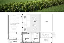 House Plan Design - Small Modern House Plan and Elevation 1500sft 552-2
