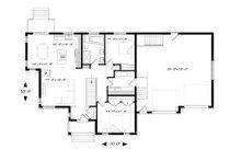 Ranch Floor Plan - Main Floor Plan Plan #23-2615