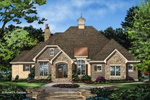 Architectural House Design - Ranch Exterior - Front Elevation Plan #929-1049