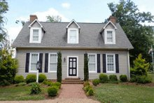 Dream House Plan - Colonial Exterior - Front Elevation Plan #137-201