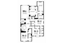 European Floor Plan - Upper Floor Plan Plan #20-2170